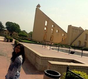 Inside Jantar Mantar.