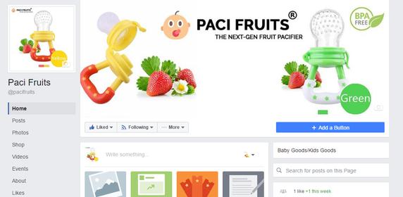attractive facebook page